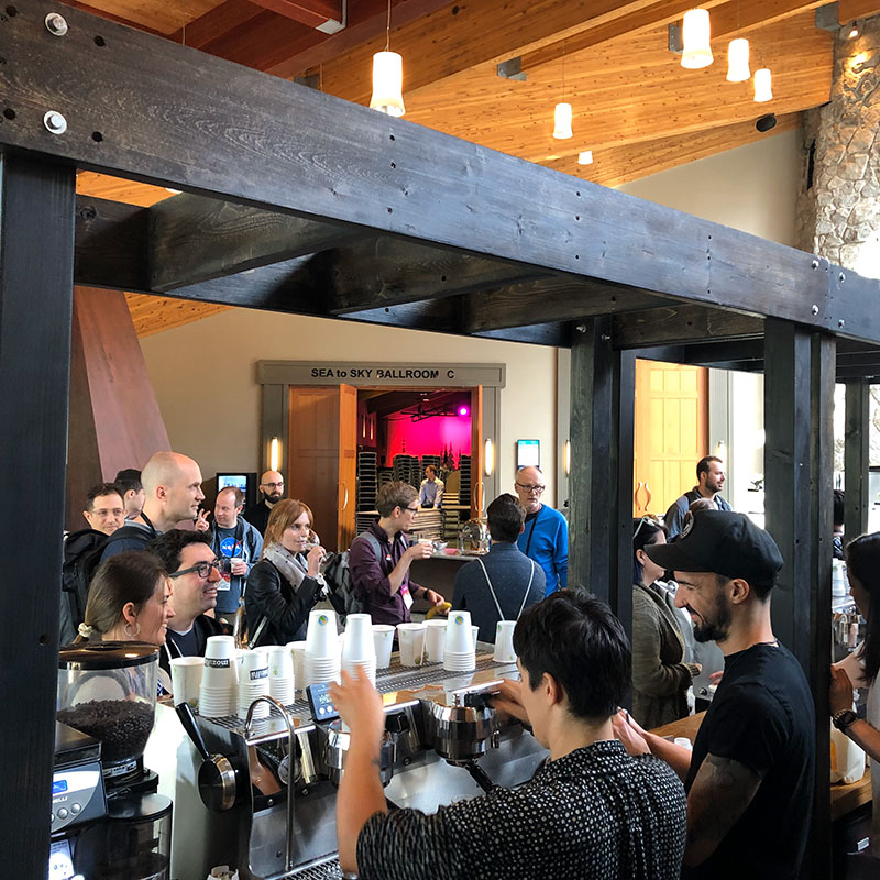 The Mount Currie Coffee Approach